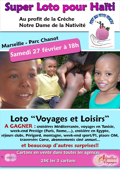 Séisme : Alain Sarlet, veut redonner de l'espoir aux enfants d'Haïti