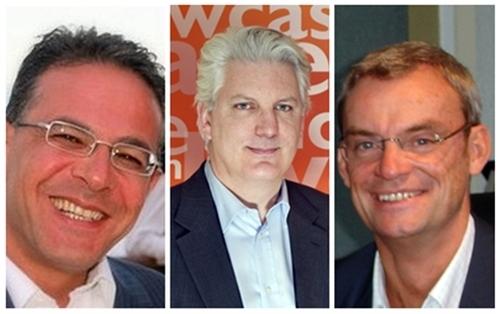 Les 3 Tour Managers élus lors de la 1ère édition en 2009