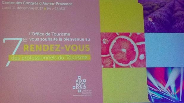 Le pays d'Aix se réunissait le 11 décembre 2017 pour évoquer les stratégies de promotion de la marque Provence. Photo: AR