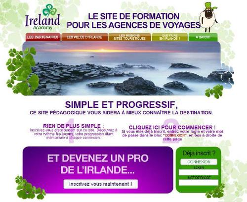 L'Irlande relance son e-learning en 2010