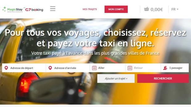 Le nouveau site lancé par MagicStay et G7 - DR