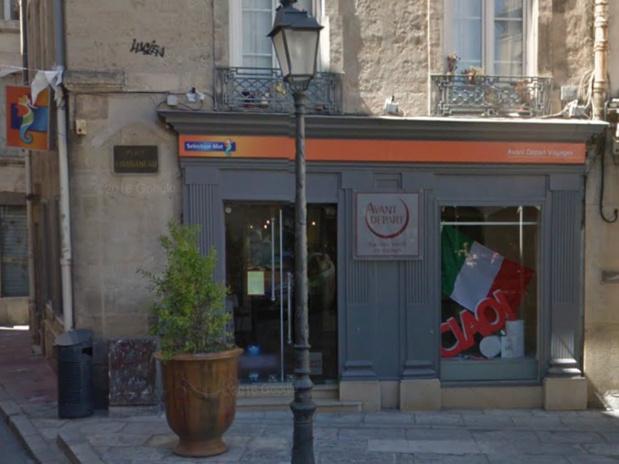 La devanture de l'agence Avant Départ Voyages que Christophe Roussel dit avoir achetée - DR : Google Maps