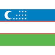 La drapeau d'Ouzbékistan - DR
