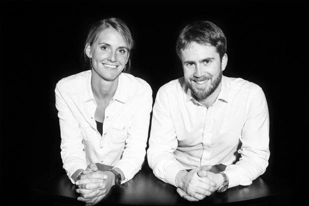 Maud et Philippe, les deux fondateurs Crédit : Adrenaline Hunter