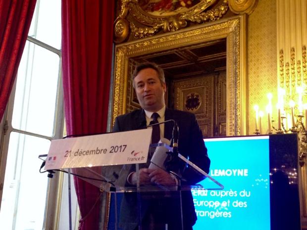 Jean-Baptiste Lemoyne, secrétaire d'Etat auprès du ministre de l'Europe et des Affaires étrangères. - CL