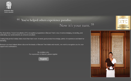 Banyan Tree Hotels lance un programme de fidélité pour les agents de voyages