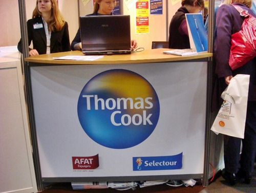 Tourissima Lille : le stand commun Thomas Cook/AS Voyages crée le buzz...