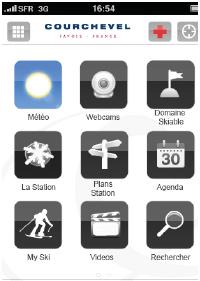 Courchevel lance son Appli iPhone