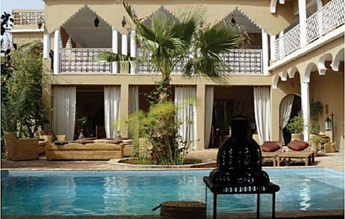 La clientèle dispose d'une gamme très étendue de formules de d'hébergement : en maisons d'hôtes, dans un riad ou un palais, dans des maisons particulières ou des hôtels personnalisés, ou même chez l'habitant... /DR