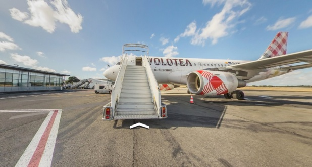 Capture écran site Volotea.com
