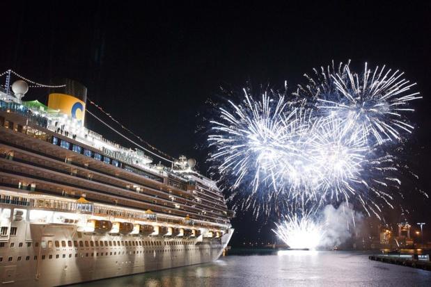 """Faire des navires Costa des """"îles de divertissement"""". Crédit Costa."""