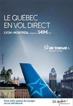 air transat s 39 affiche en france. Black Bedroom Furniture Sets. Home Design Ideas