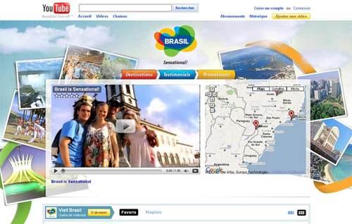 La nouvelle chaîne You Tube dédiée à la destination brésilienne