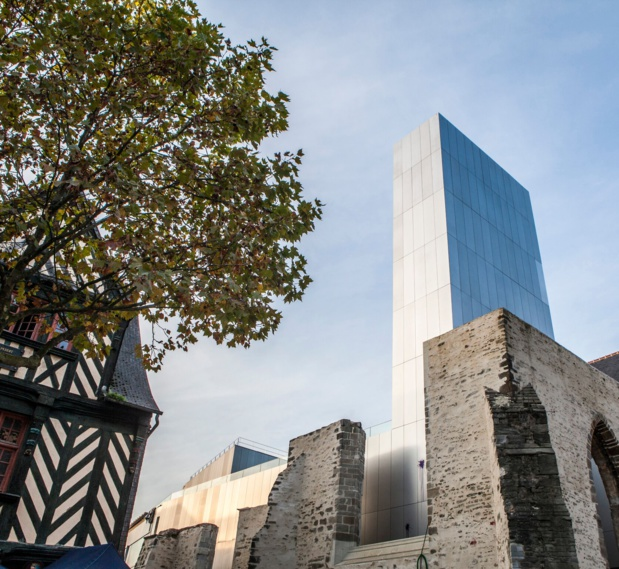 Vu du Centre de congrès de Rennes installé dans le Couvent des Jacobins ©R. Volante  Rennes Ville et Métropole_preview