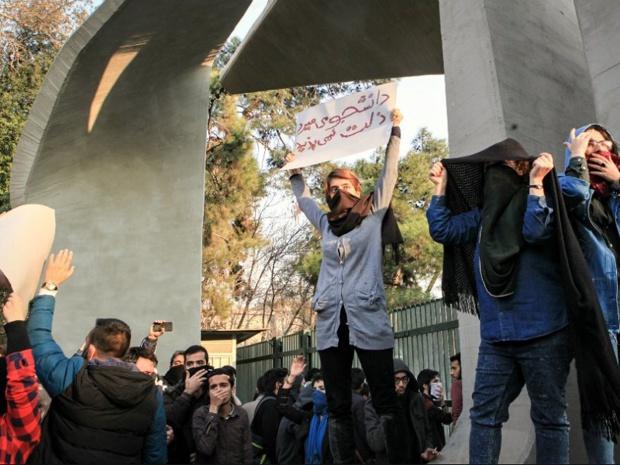 L'Iran est en proie à ses plus importantes manifestations depuis 2009 - Crédit photo : compte Twitter @ UNHumanRights