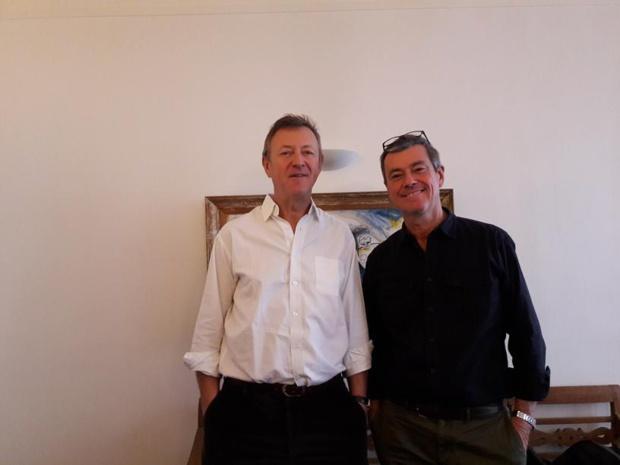 Indissociables et complémentaires Didier Rabaux et Didier Blanchard viennent du terrain et de l'accompagnement des groupes. MS.
