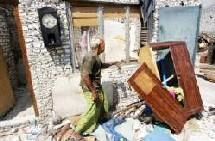 70 maisons entièrement réparées et 3 autres reconstruites