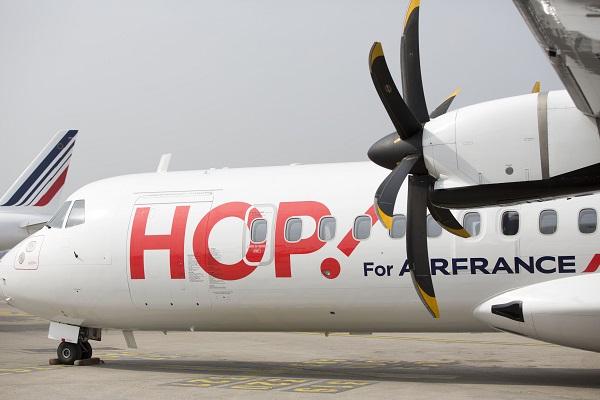 Toulon devient la 9e destination Hop! de l'aéroport de Strasbourg - Crédit photo : Hop! Air France
