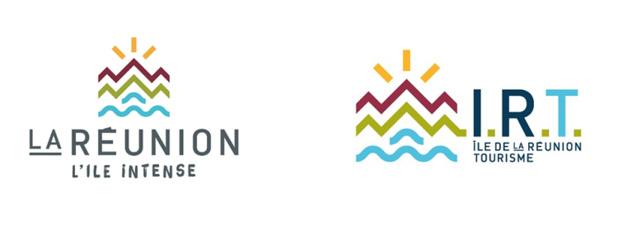 Les deux logos de la Réunion - DR