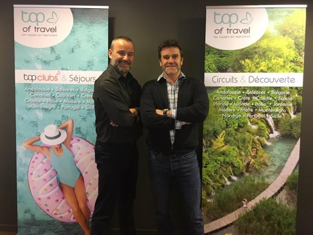Yann Richard et Jean-Claude Gaudin - DR Top Of travel