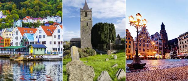 Bergen, Cork et Wroclaw : 3 nouvelles destinations Air France - Photo AF corporate