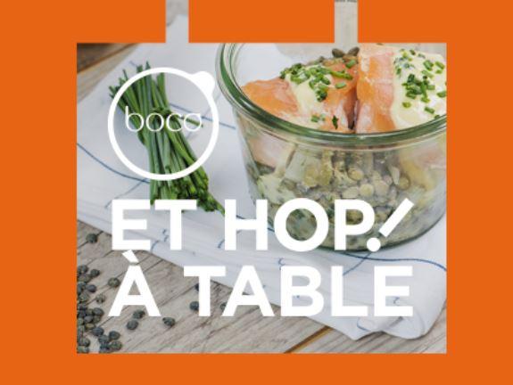 HOP! à table : l'offre s'élargie