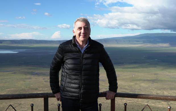 Guy Bigiaoui, fondateur et président de Safrans du Monde. - Safrans du Monde
