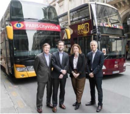 PARISCityVISION et Big Bus Tours on signé un accord en décembre 2018 - DR PARISCityVISION