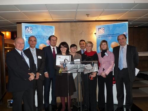 Les lauréats des trophées de l'APS