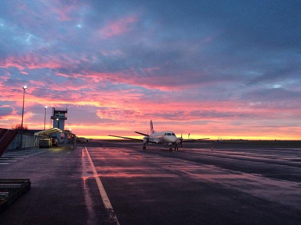 Crédit photo : compte Twitter @AeroportdeCaen