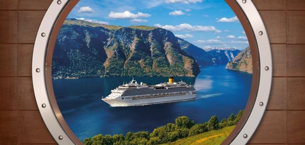 Europe du Nord : Costa Croisières programme des départs de 12 villes de province