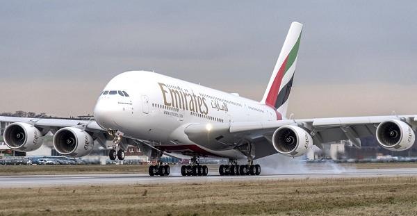 Emirates va souffler les 10 ans du premier vol en A380, en 2018 - Crédit photo : Emirates