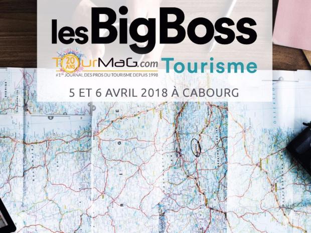 La 2e édition des BigBoss du tourisme aura lieu à Cabourg les 5 et 6 avril 2018 - DR