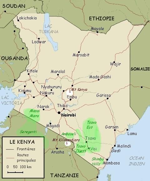 Le Kenya sur la piste du trek familial avec Allibert