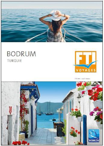 La brochure Bodrum éditée par FTI Voyages sera distribuée début février - DR