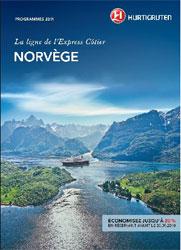 Hurtigruten France : pré-brochure « Croisières 2011 en Norvège »