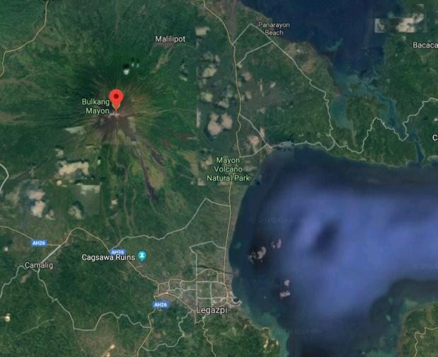 Le niveau d'alerte relatif au volcan Mayon a été relevé à 4 sur une échelle de 1 à 5 - DR