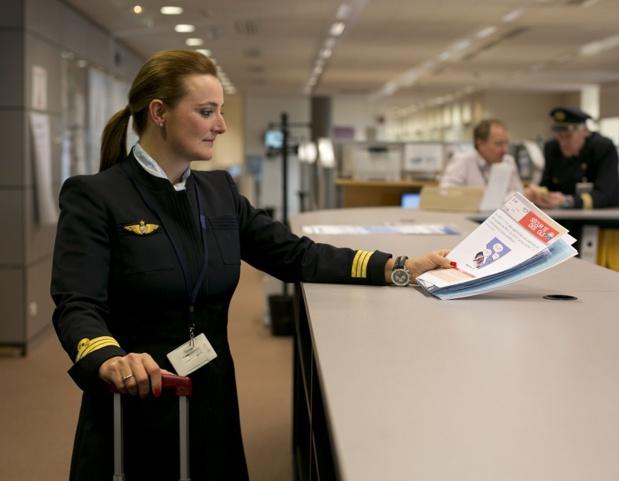 Les pilotes d'Air France ont demandé une augmentation de leur salaire de 10,7% - Photo Corporate Air France