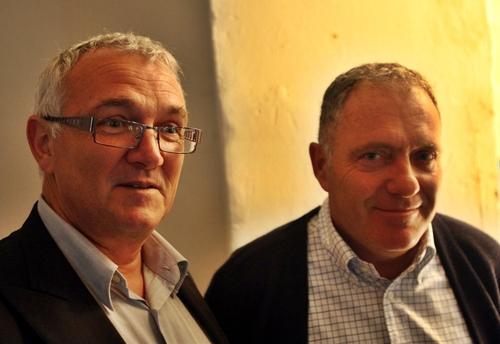 Alex Nicola, directeur général des Villages Club du Soleil  et Serge Morandin, directeur du site du Hameau du Reverdi (Saint Tropez) / Photo : HT
