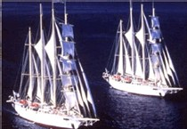 Le Star Clipper et le Star Flyer