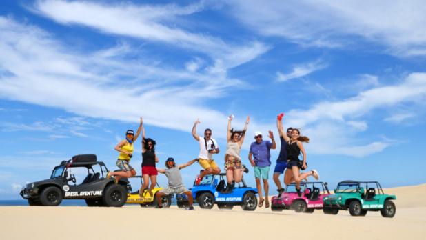 Les blogueurs Travel Me Happy, Suisse Moi et Mademoiselle Voyage ont participé à l'aventure