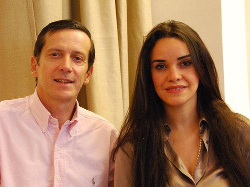 Jean-Michel Chantrel et son épouse