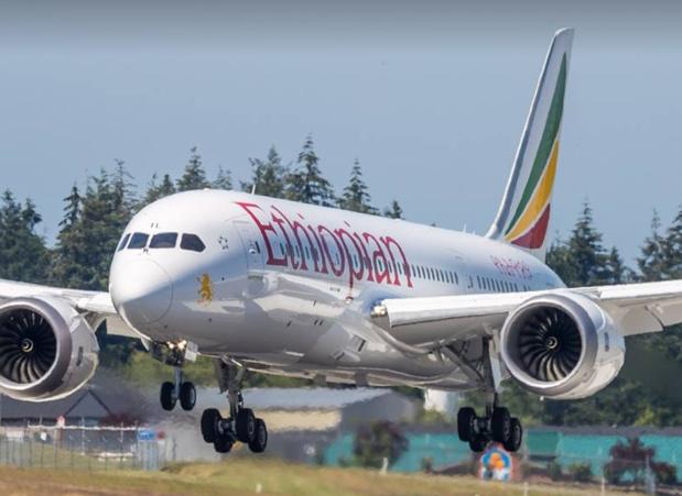"""Ethiopian Airlines, première compagnie africaine, s'est déjà félicité de la mise en place du premier traité d'""""Open sky"""" en Afrique © Ethiopian Airlines FB"""