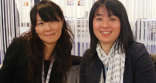 Towa Kobayashi de Web Travel et Shinodu Masuda d'Atout France Tokyo