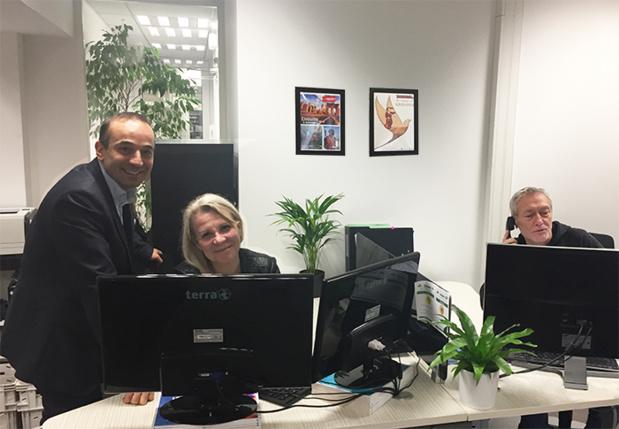 Burno Berrebi PDG, Petra Dechaux-Frankova et Pierre Lumbroso. - DR Premium Travel