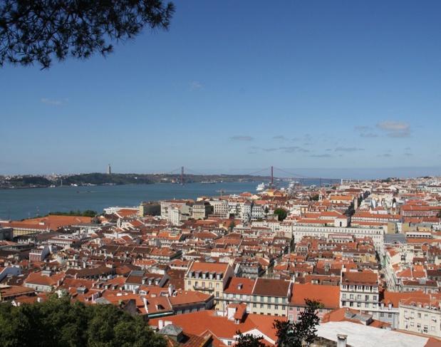 Vue de Lisbonne - Photo JDL