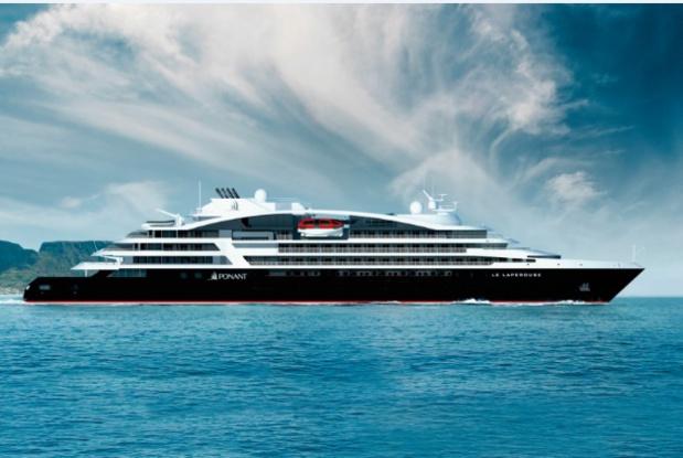 Le Lapérouse, premier navire de la série Ponant Explorers - DR Ponant