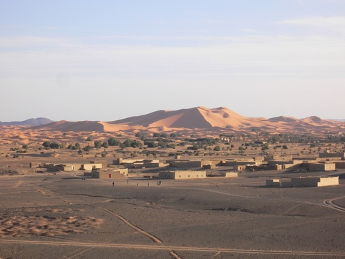 La dune de Merzouga© Virginie Picon-Lefebvre