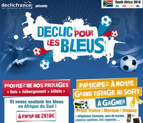 Coupe du monde : Declicfrance.com lance un site declicpourlesbleus.com