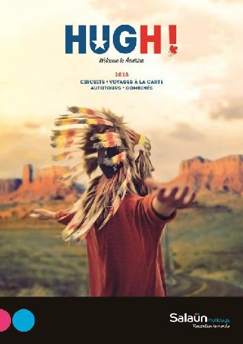 Le catalogue Hugh!, nouvelle marque spécialiste de l'Amérique du Nord de Salaün - DR  Salaün Holidays